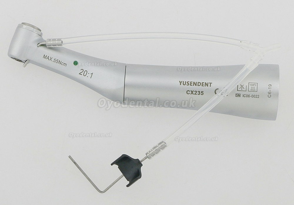 YUSENDENT CX235 C6-19 Push Button 20:1 Implant Surgery Contra Angle Handpiece