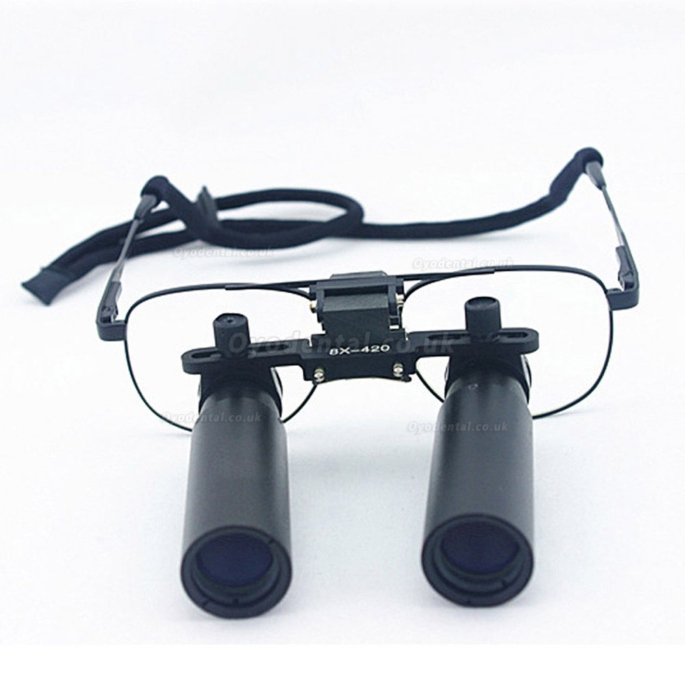 Ymarda 8.0X 420mm Dental Binocular Loupes Medical Loupes Dentist Magnifier Metal Frame
