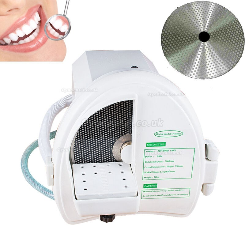 Dental Lab Wet Model Shaping Trimmer Trimming Abrasive Diamond Disc Wheel 2800rpm