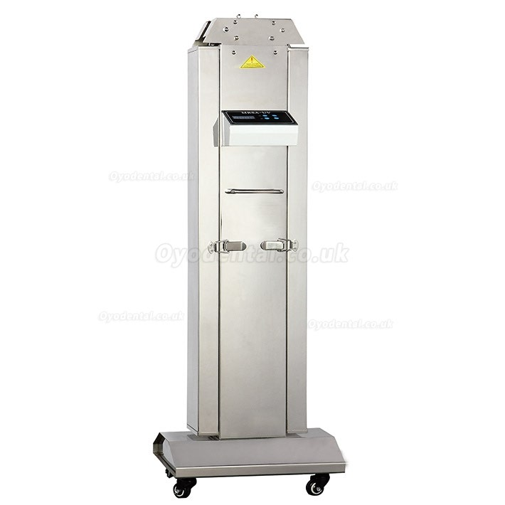 FY 120W-220W Portable UV+Ozone Disinfection Lamp Stainless Steel Trolley with With Infrared Sensor