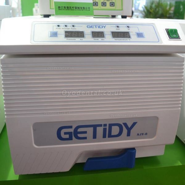 Getidy® SJY-8 8L Dental Medical Equipment Autoclave Sterilizer