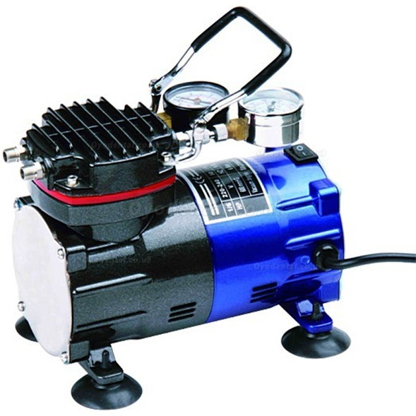 Greeloy GZ602 Portable Mini Inflation Air Compressor & Vacuum Pump without Tank
