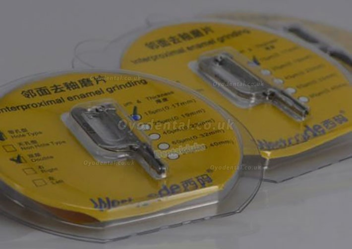 Dental Orthodontics Interproximal Enamel Reduction IPR Strips 25μm Double Sides