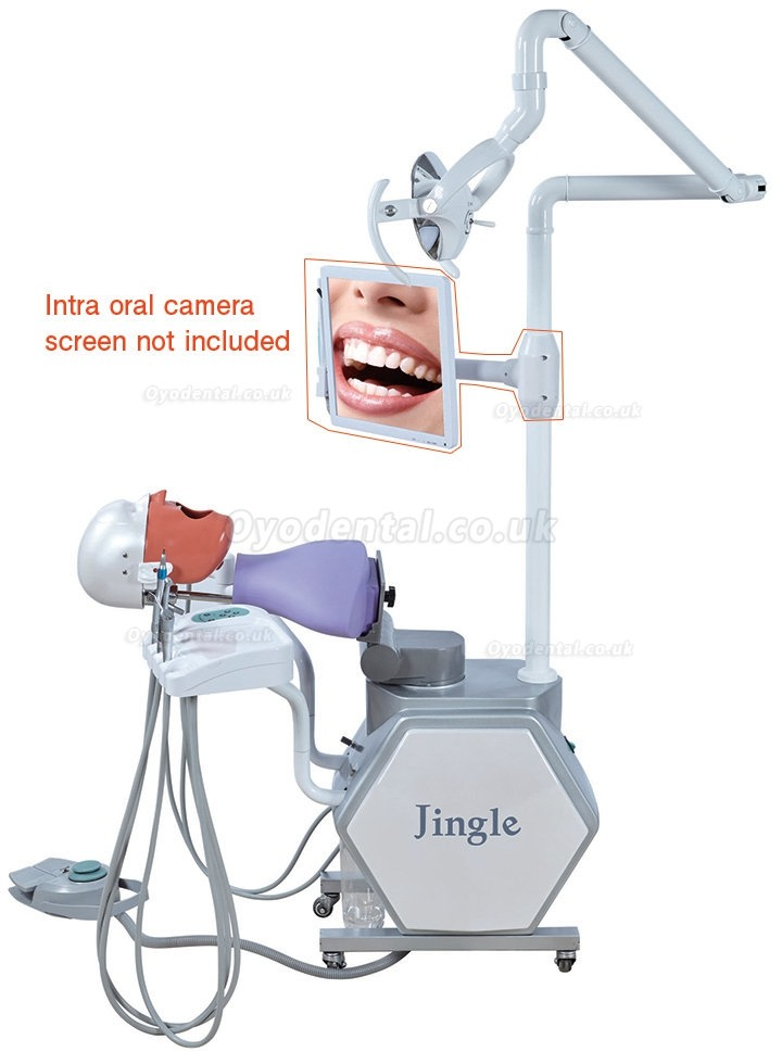Jingle JG-A11 Dental Student Training Teaching Mobile Electrical Control Dental Simulation Unit