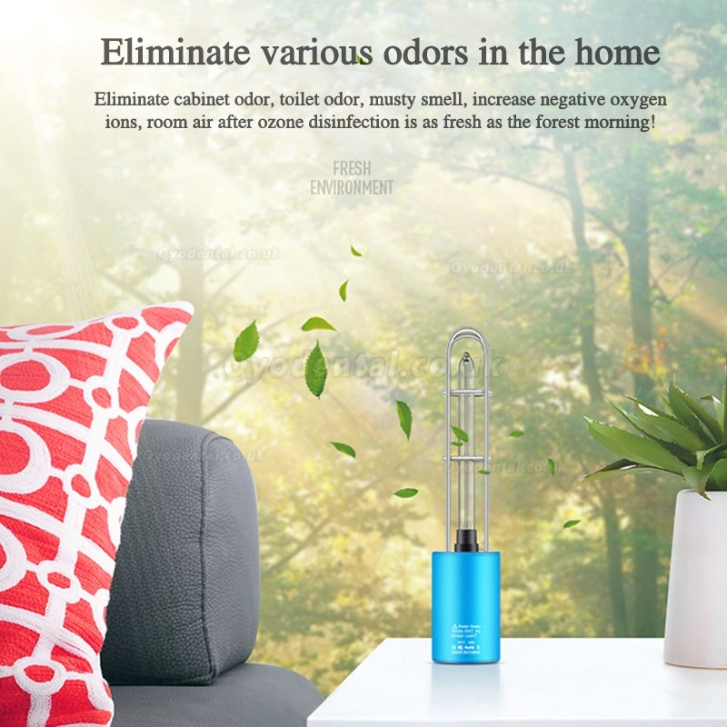 Rechargeable Portable UV+Ozonet Disinfection Lamp Home Car Bedroom