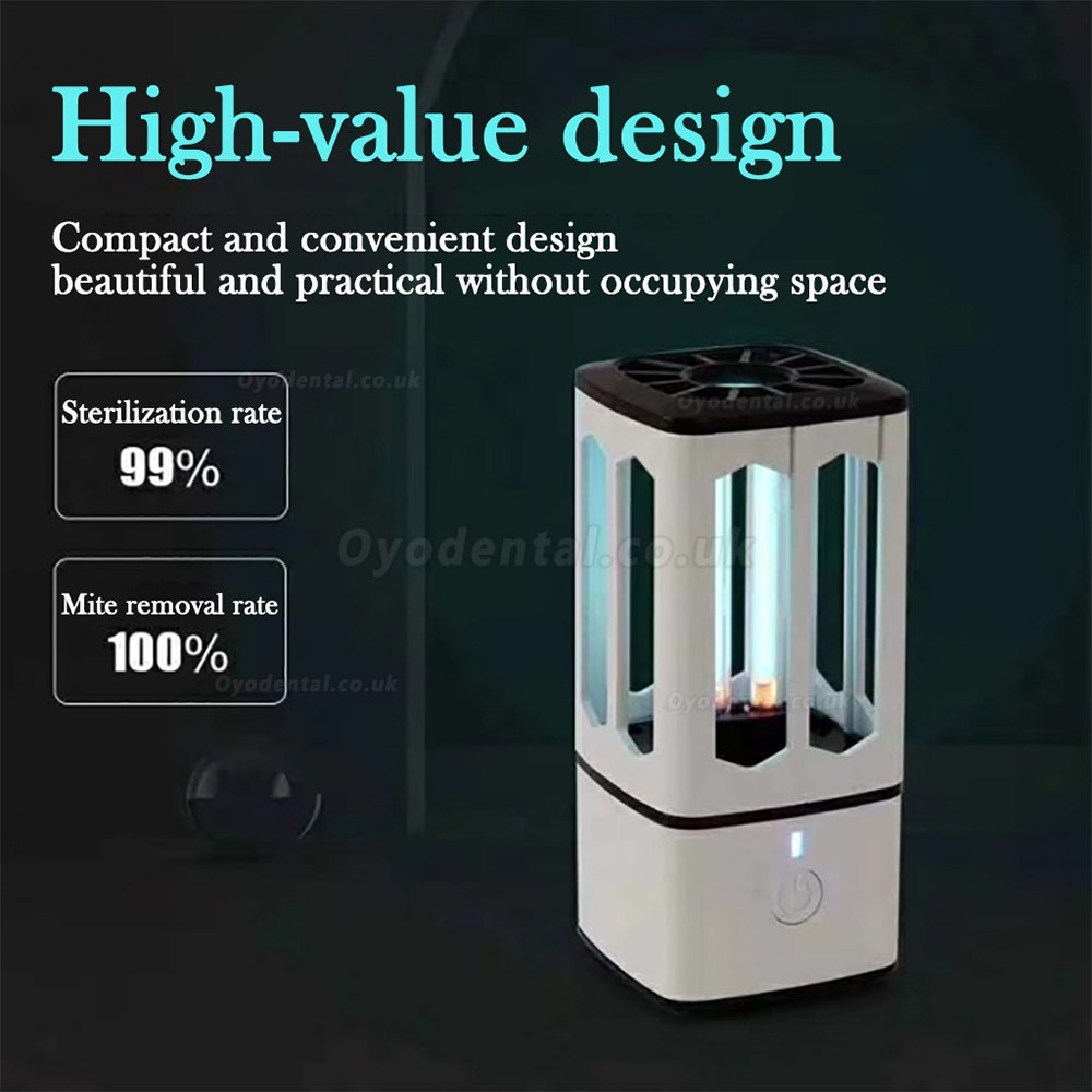 2020 New Rechargeable Mini Uv Disinfection Lamp Household Car Home