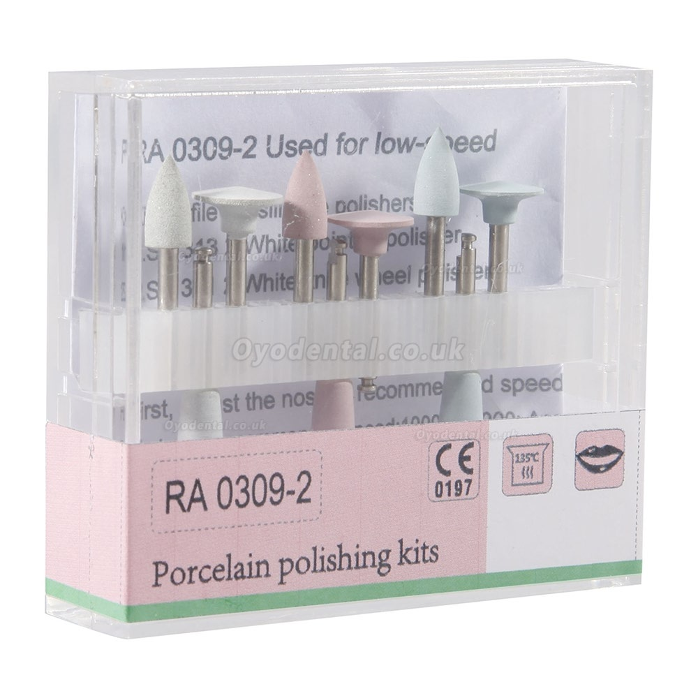 5 Set RA0309-2 Dental Composite Polishing Kit for Low-speed Handpiece Contra Angle