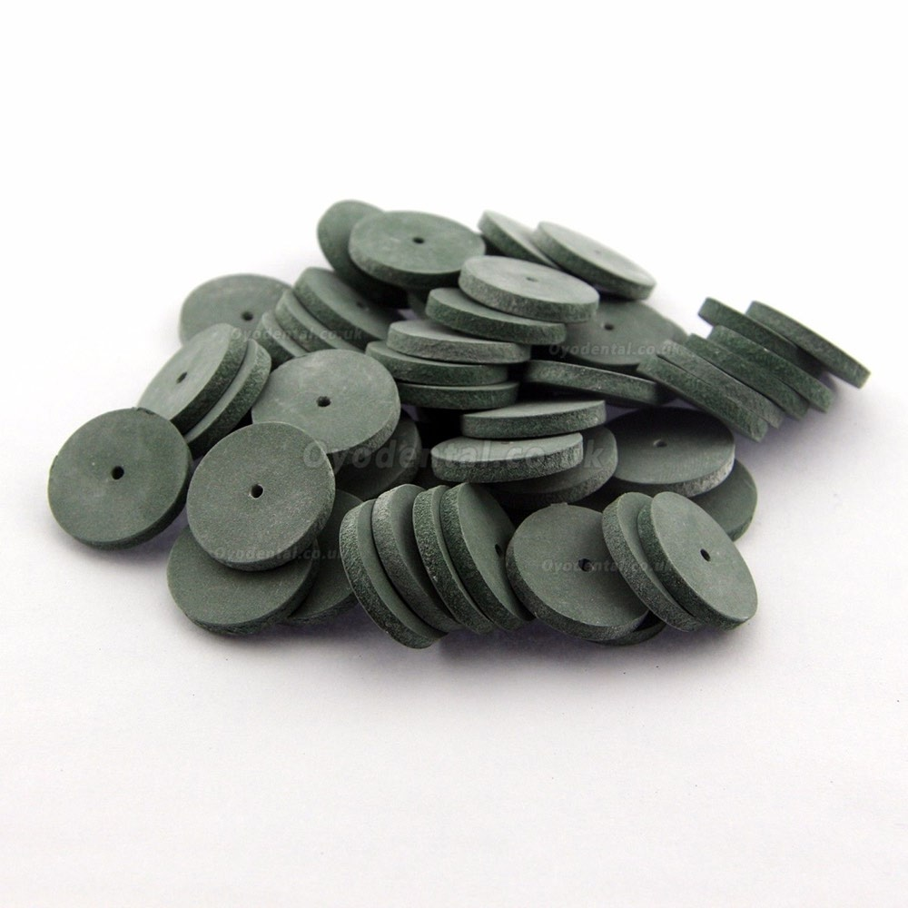 100 Silicone Rubber Polishing wheels for Dental Jewelry Rotary Tool