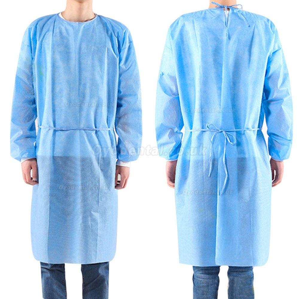 10pcs/set Disposable Bandage Coveralls Surgical Gown Dust-proof Isolation Clothes