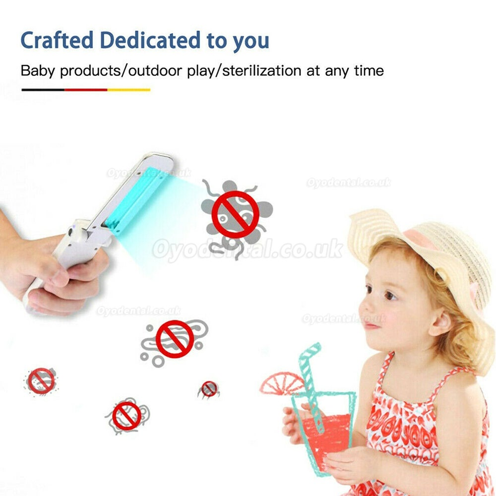 Mini UV Light Sterilizer Wand USB Germicidal lamp Pet Hotel Household Car
