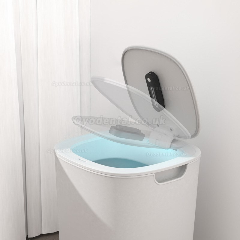 Portable Rechargeable USB Toilet UV Sterilizer Light Disinfection Lamp Waterproof
