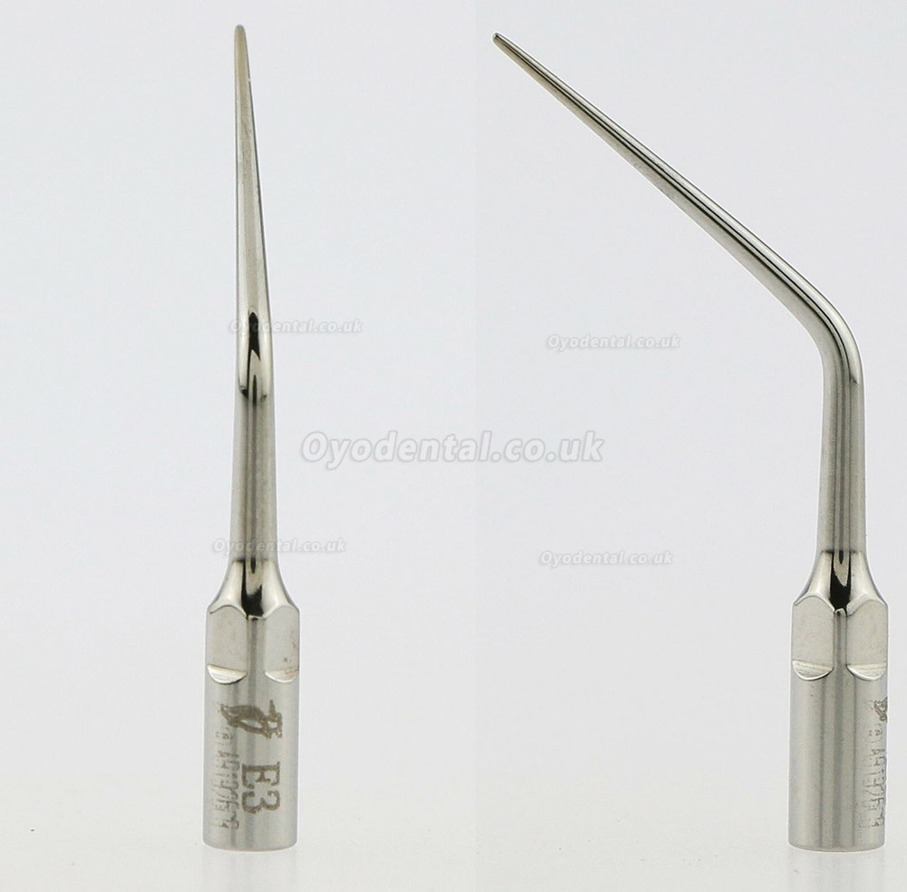 5Pcs Woodpecker E3 Dental Ultrasonic Scaler Endodontics Tip Fit EMS UDS Handpiece