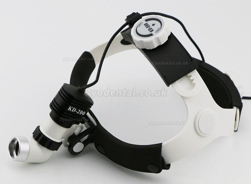 Dental Gynecology Surgery 5W KD202A-6 LED Medical Surgical Headlight Headlamp